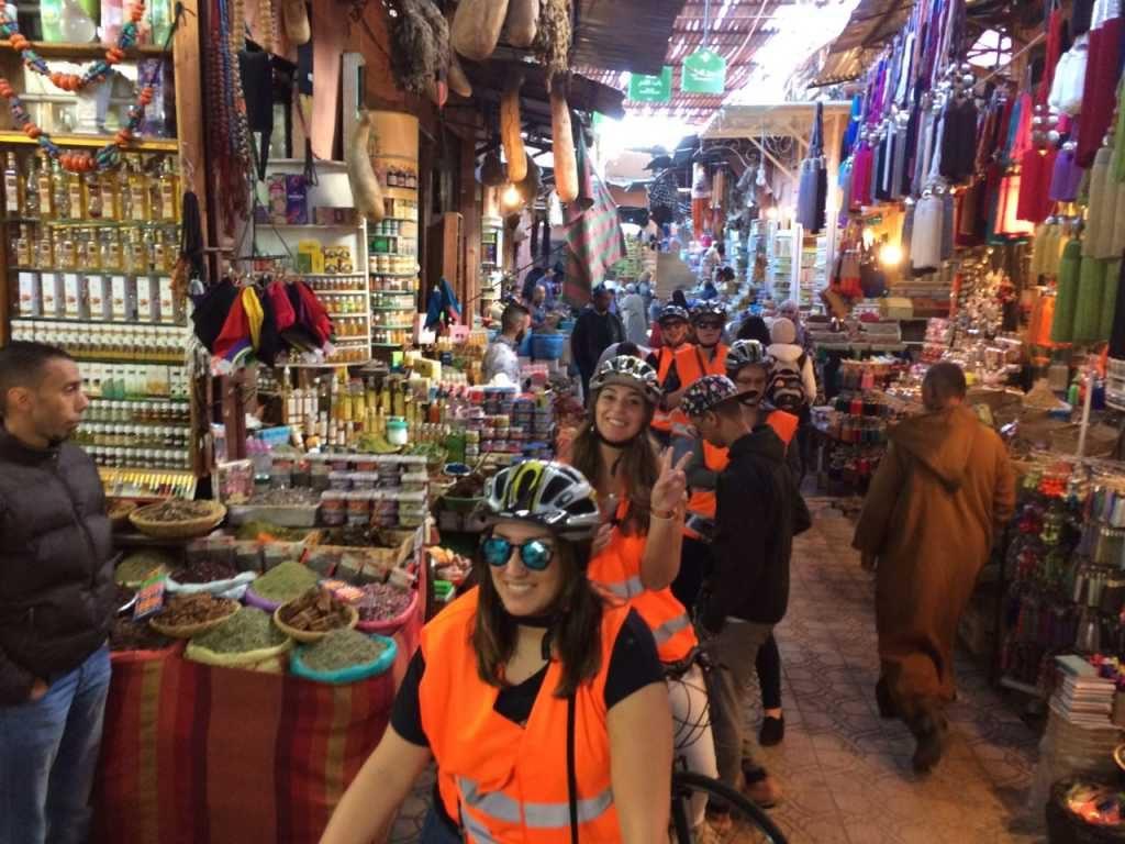 Fietsen in Marrakech