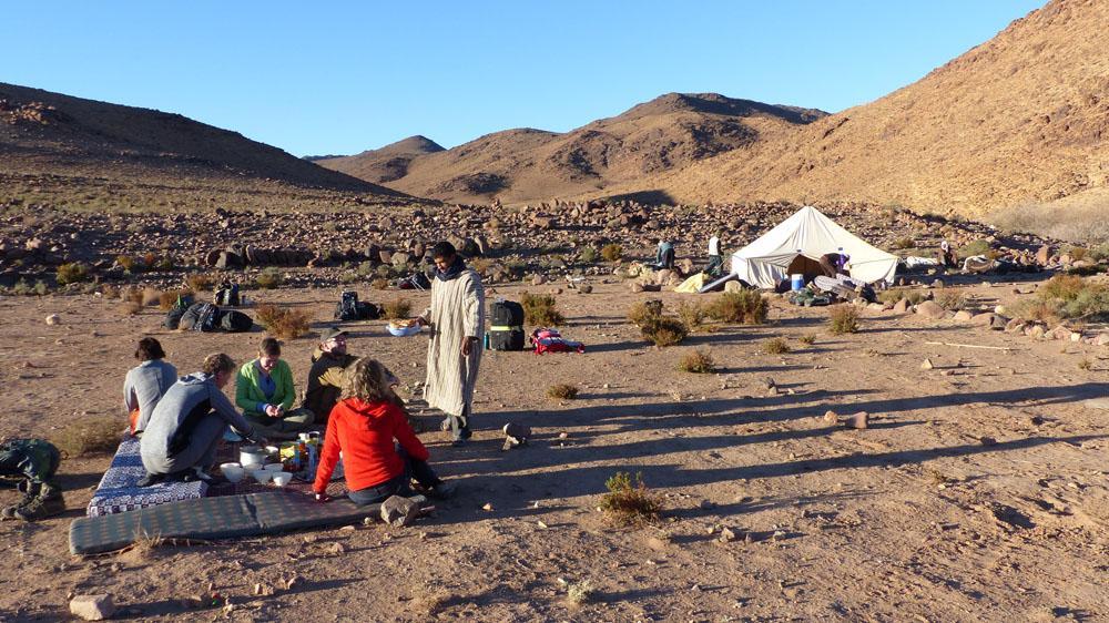 Jebel Saghro wandelen met kamperen