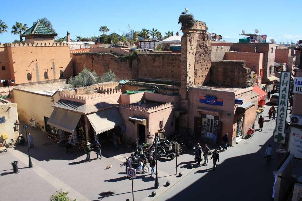 1/2 dagexcursie ochtend Marrakech Kasba & Sultans