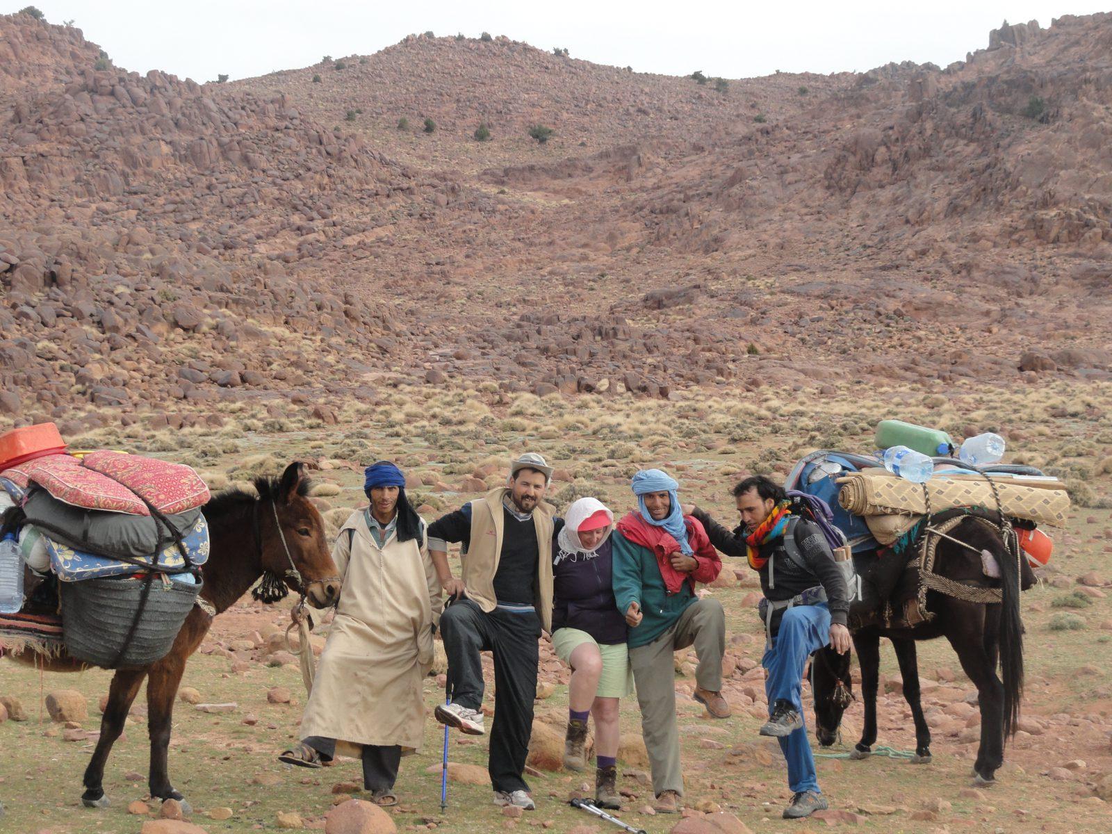 Anti-Atlas Saghro gebergte – wandelen met kamperen – ResetT – jongeren