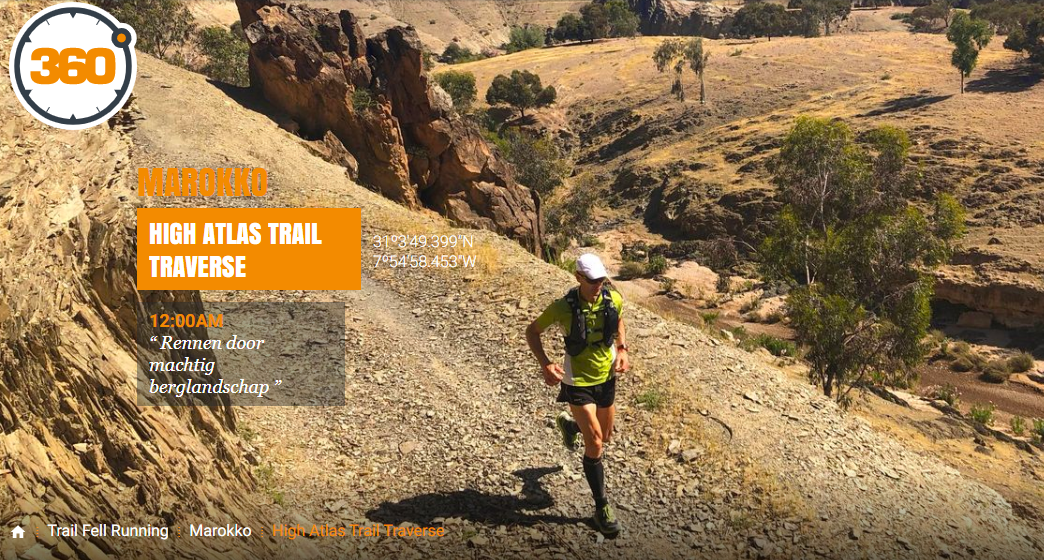 Marokko trailrun – High Atlas Trail Traverse
