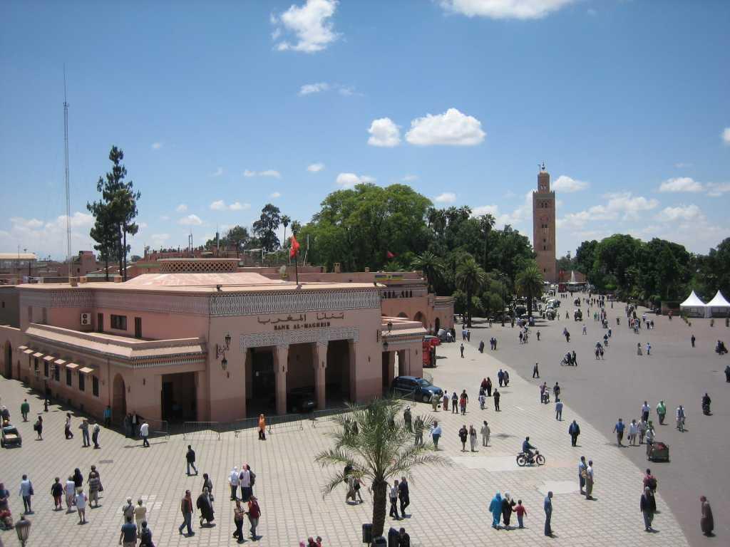 Dag 1 - Marokko Yoga Mystical Sahara