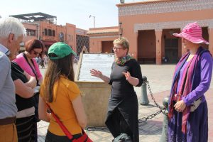 Marrakech groepsreis met NL reisleider: Mariëtte van Beek