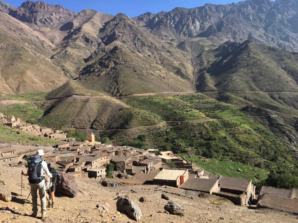 Atlasgebergte wandeltrektocht met Toubkal ResetT – jongeren met een uitdaging