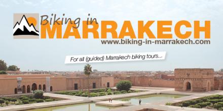 biking in marrkaech