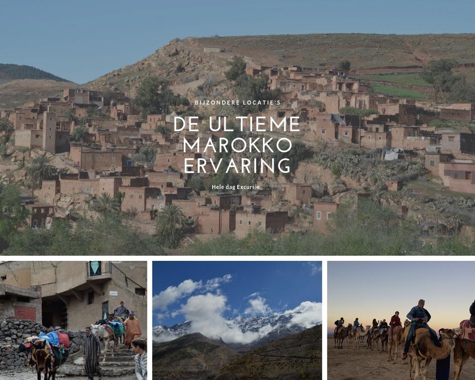 Dagexcursie Marrakech – de ultieme Marokko-ervaring