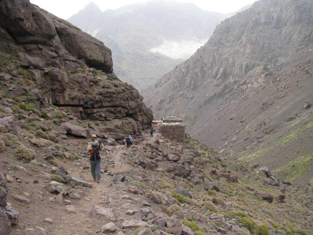 ResetT coachingreis volwassenen: Toubkal slapen in Berberhuizen