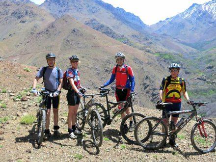 groep mountainbike
