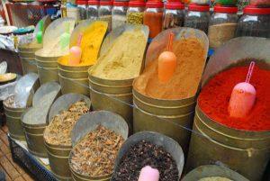 Marokko kruidenreis; smaak, geuren en kleuren
