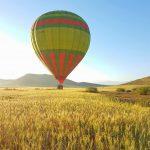 Met een luchtballon in de hemel van Marrakech