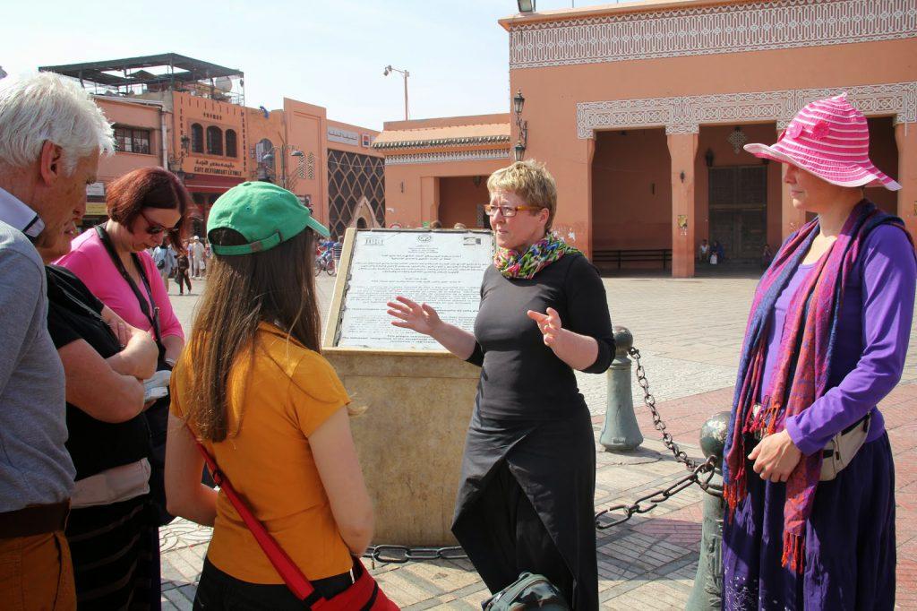 Marrakech achter de schermen + Atlas bergen