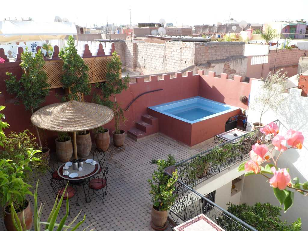 Dag 4 - Stedentrip Marrakech in Riad hotel + 2 excursies