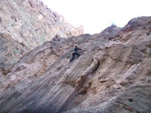 Rotsklimmen klimmen en Amellago