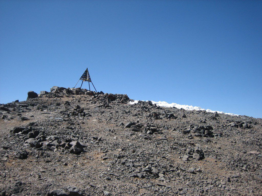 Jebel Toubkal kampeer-wandeltrek 'diehards'