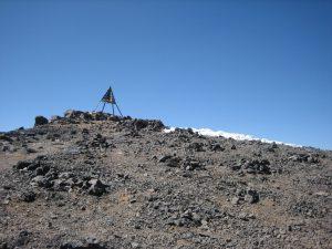 Toubkal Trek top en het baken